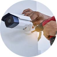 Instalação de Alarmes e Câmeras